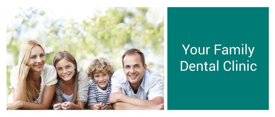 Your Family Dental Clinic | A smiling family who trusts Dr. Michael Strugurescu with veneers in Danforth